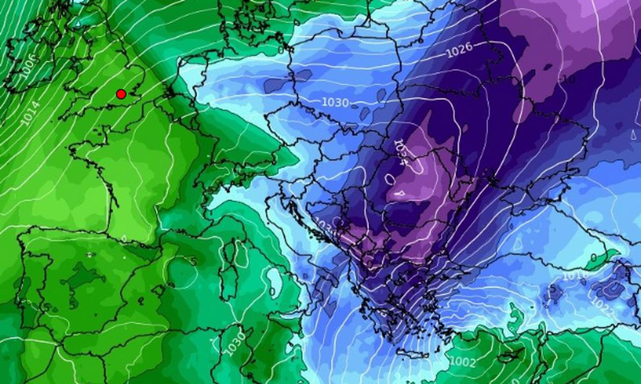Καιρός: Πώς θα κινηθεί η ψυχρή εισβολή. Πού θα χιονίσει από την Κυριακή έως την Τρίτη... (videos)