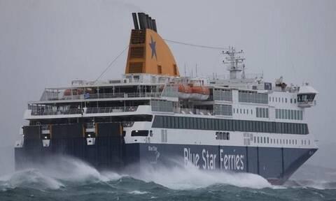 Πανικός στο Blue Star Delos: Εικόνες που κόβουν την ανάσα