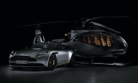 H Aston Martin βάζει τώρα την υπογραφή της και σε ελικόπτερα