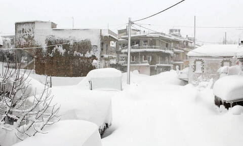 Έκτακτο δελτίο ΕΜΥ: Πλησιάζει ο «Ηφαιστίωνας» - Χιόνια και χαμηλές θερμοκρασίες σε όλη τη χώρα