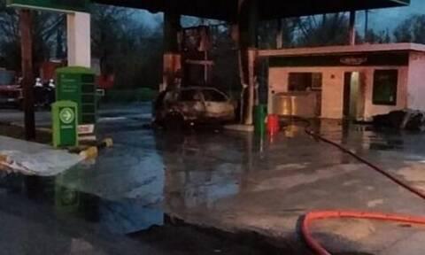 Κέρκυρα: Αυτοκίνητο «έπεσε» σε αντλία βενζινάδικου - Σώος ο οδηγός