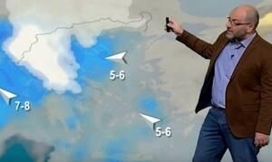 Καιρός: Πιο παγωμένη γωνιά της Ευρώπης η Ελλάδα από 13 Γενάρη;