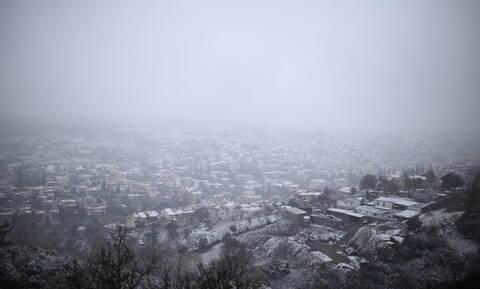 Έκτακτο δελτίο ΕΜΥ: Θεοφάνεια με «Ηφαιστίωνα» - Λευκό τοπίο στη μισή Ελλάδα (pics)