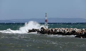 Κακοκαιρία: Απίστευτη θύελλα στο Αιγαίο - Δείτε τι ταχύτητες «έπιασαν» οι άνεμοι