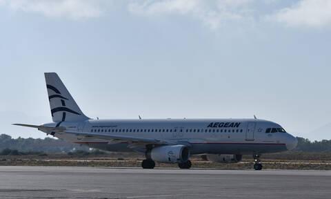 Ηράκλειο: Αεροπλάνο επέστρεψε στην Αθήνα λόγω των ανέμων