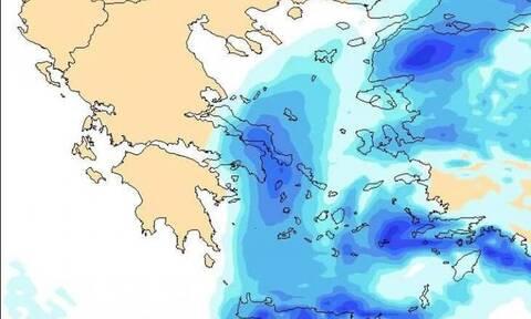 Καιρός: Προσοχή! Προειδοποίηση για χιονοπτώσεις στην Αττική τις επόμενες ώρες και ταμείο στο τέλος