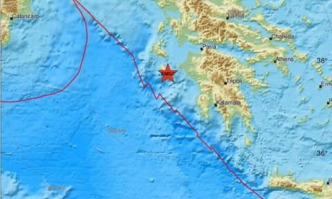 Σεισμός ΤΩΡΑ στη Ζάκυνθο (pics) - Αισθητός στο νησί