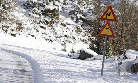 Καιρός: Δείτε LIVE πού χιονίζει τώρα σε όλη την Ελλάδα