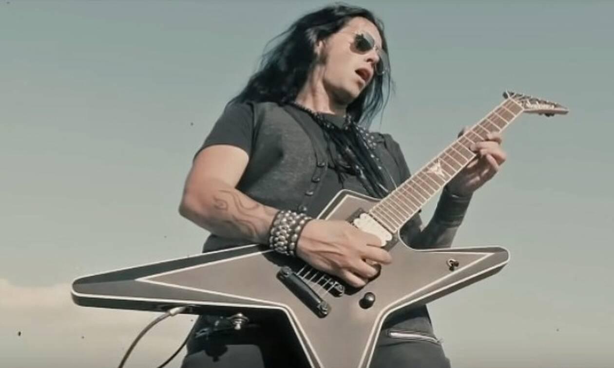 Στα βραβεία Metal Hall of Fame ο Έλληνας κιθαρίστας Gus G