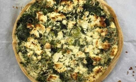 Η αλμυρή συνταγή της ημέρας: Τάρτα με σπανάκι και πατάτες