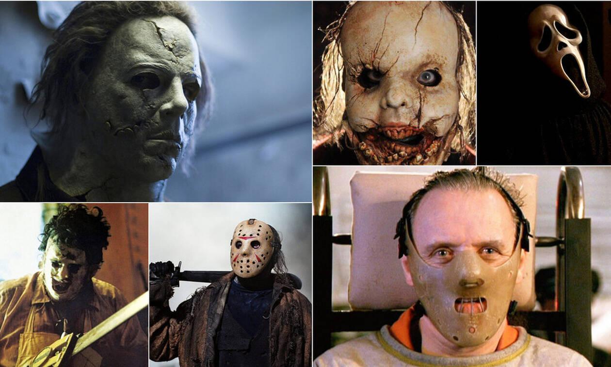 Οι πιο τρομαχτικές μάσκες στην ιστορία των θρίλερ