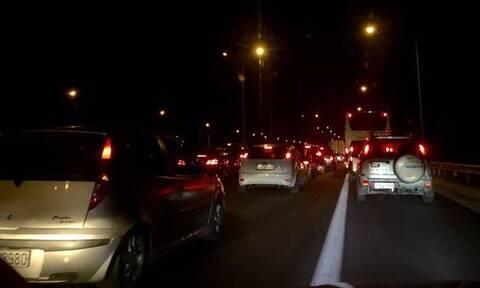 Κίνηση ΤΩΡΑ: Μποτιλιάρισμα στην Αθηνών - Λαμίας  - Ποιους δρόμους να αποφύγετε (ΧΑΡΤΕΣ)