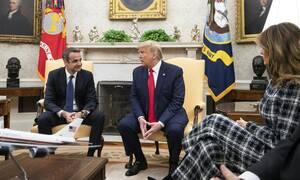 Το παρασκήνιο της συνάντησης Τραμπ-Μητσοτάκη: Ικανοποίηση στην κυβέρνηση - «Πυρά» από τον ΣΥΡΙΖΑ
