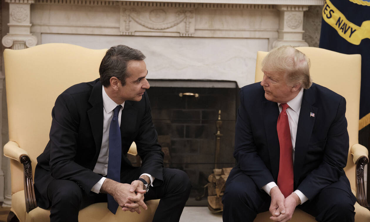 PM Mitsotakis - President Trump in White House meeting: 'We want US businesses to invest in Greece