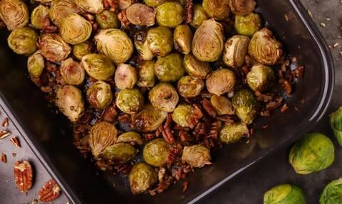 Η συνταγή της ημέρας: Ψητά λαχανάκια Βρυξελλών