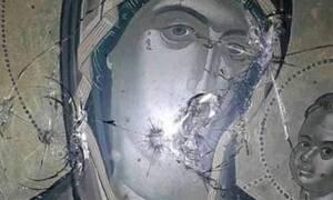 Ύψιστη ασέβεια στη Θάσο: Πυροβόλησαν τις εικόνες του Χριστού και της Παναγίας (vid)