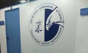 Εργαστήριο κρυσταλλικής μεθαμφεταμίνης στο κέντρο της Αθήνας εντόπισε η Δίωξη Ναρκωτικών