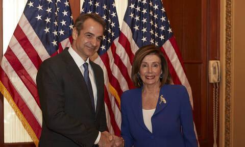 Μητσοτάκης: Επαφές με Πελόζι και γερουσιαστές στις ΗΠΑ - Έθεσε ξανά ζήτημα τουρκικής προκλητικότητας