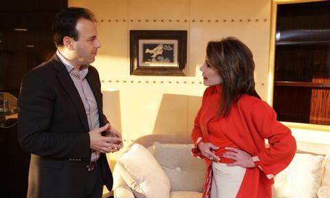 «Ελλάδα 2021»: Mε τον πρόεδρο της ΚΕΔΕ συναντήθηκε η Γιάννα Αγγελοπούλου