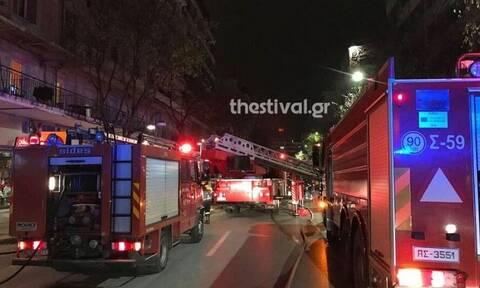 Θεσσαλονίκη: Φωτιά σε διαμέρισμα - Σώθηκε 99χρονος από τους γείτονές του