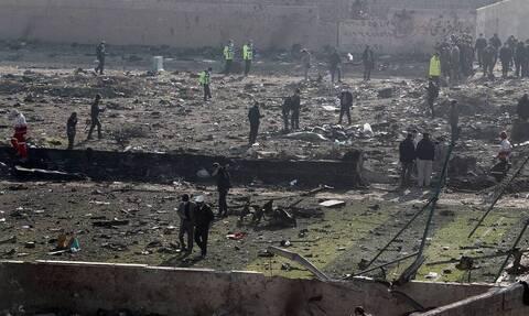 В Тегеране сообщили, что разбившийся украинский Boeing 737 загорелся в воздухе