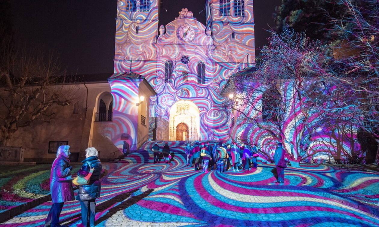Το εντυπωσιακό φεστιβάλ φωτός στη Λουκέρνη χαρίζει μαγικές εικόνες