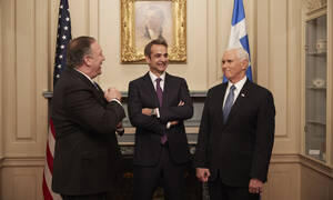 Pence's and Pompeo's positive message on Greek economy