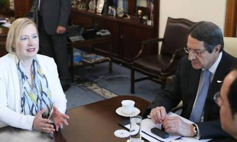 Αναστασιάδης σε Σπεχάρ: Να αποφευχθεί ένα νέο αιματοκύλισμα στην περιοχή