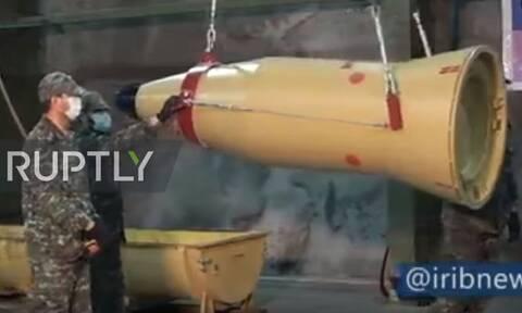«Επικό» βίντεο από το Ιράν για την εκτόξευση των πυραύλων στις βάσεις των ΗΠΑ