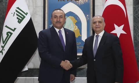 Τσαβούσογλου: Δεν θέλουμε το Ιράκ να μετατραπεί σε πεδίο μάχης ξένων δυνάμεων