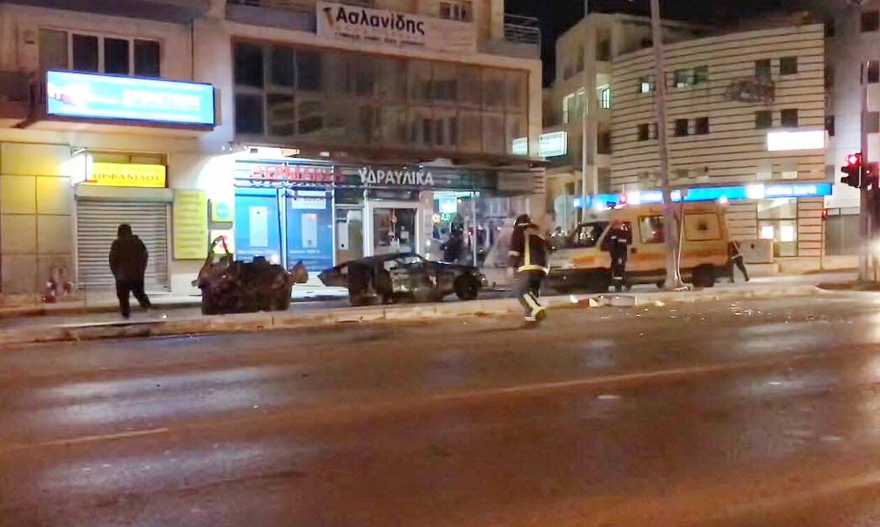 Θεσσαλονίκη: Σοβαρό τροχαίο με καταδιωκόμενο όχημα που μετέφερε μετανάστες στη Σταυρούπολη