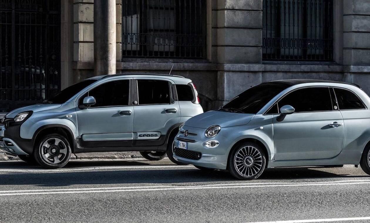 Fiat Panda & 500 με καινούργιες ήπια υβριδικές εκδόσεις