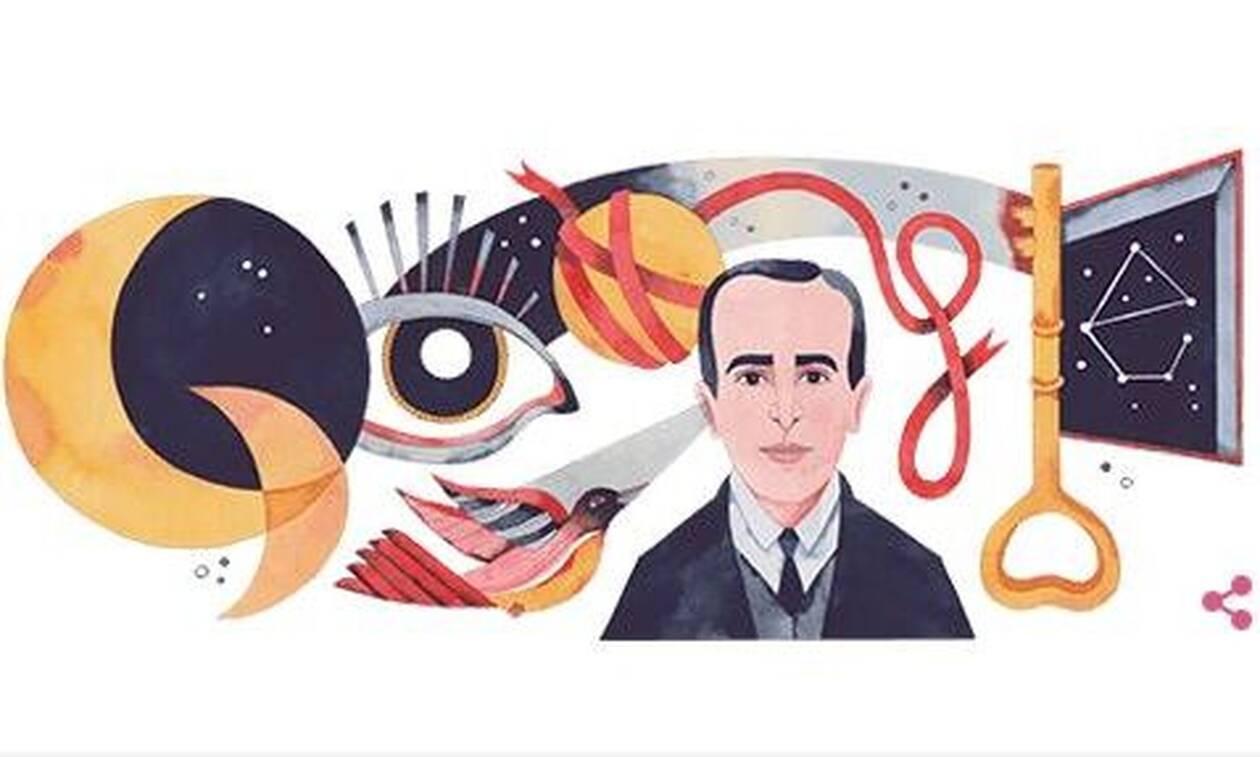 Vicente Huidobro: Ποιος ήταν και γιατί τον τιμά η Google με doodle