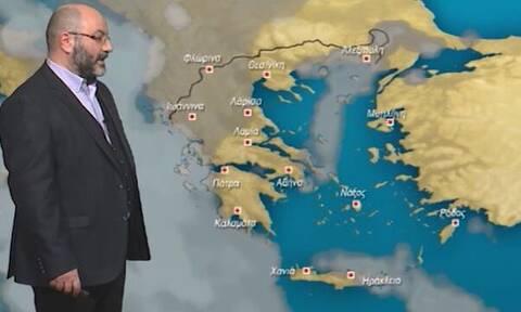 Καιρός: Πού θα χιονίσει την Κυριακή; Η ανάλυση του Αρναούτογλου
