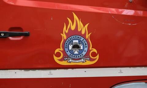 Συναγερμός στην Πυροσβεστική: Έκρηξη στο δημαρχείο Ηρακλείου (pics)