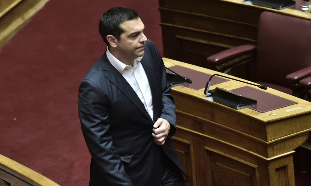 SYRIZA's Tsipras meets with Iranian Ambassador to Greece Naderi