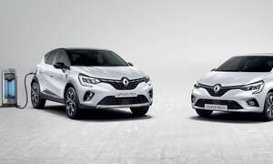 Renault: Πρεμιέρα για τα υβριδικά Clio Ε-Τech και Captur E-Tech Plug-in με 140 και 160 ίππους
