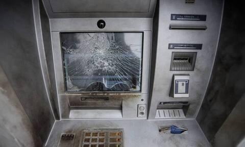 Έκρηξη σε ΑΤΜ στο Μαρούσι (pics)