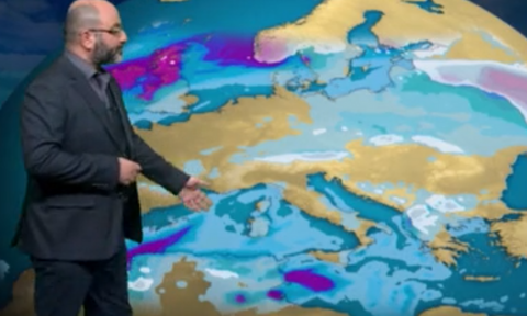 Καιρός: Πού θα βρέξει, πού θα χιονίσει το Σαββατοκύριακο! Η ανάλυση του Σάκη Αρναούτογλου (video)