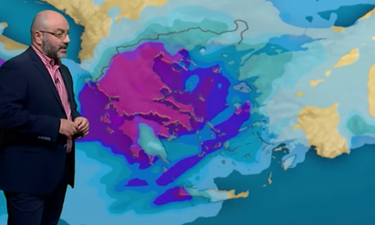 Καιρός: Προσοχή από την Τετάρτη στην Κρήτη. Έκτακτη ενημέρωση από τον Αρναούτογλου