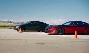 Tο Tesla Model S είναι γρήγορο αλλά όχι τόσο όσο το Drako GTE