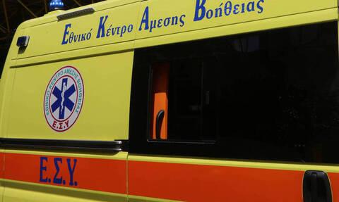 Σοκ στα Τρίκαλα: Γυναίκα έπεσε από τον 3ο όροφο