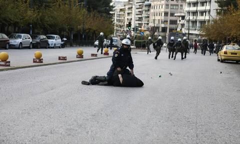 Κουκάκι: Ένταση κατά τη μεταγωγή των συλληφθέντων στην Ευελπίδων (pics)