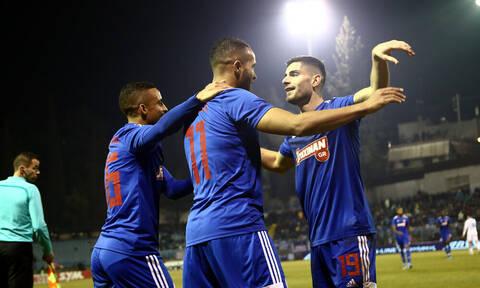 Λαμία-Ολυμπιακός 0-4: Άνετο πέρασμα με υπογραφή Ελ Αραμπί (photos+videos)