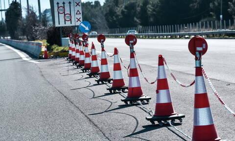 Κυκλοφοριακές ρυθμίσεις από σήμερα (13/1) στην ΠΑΘΕ