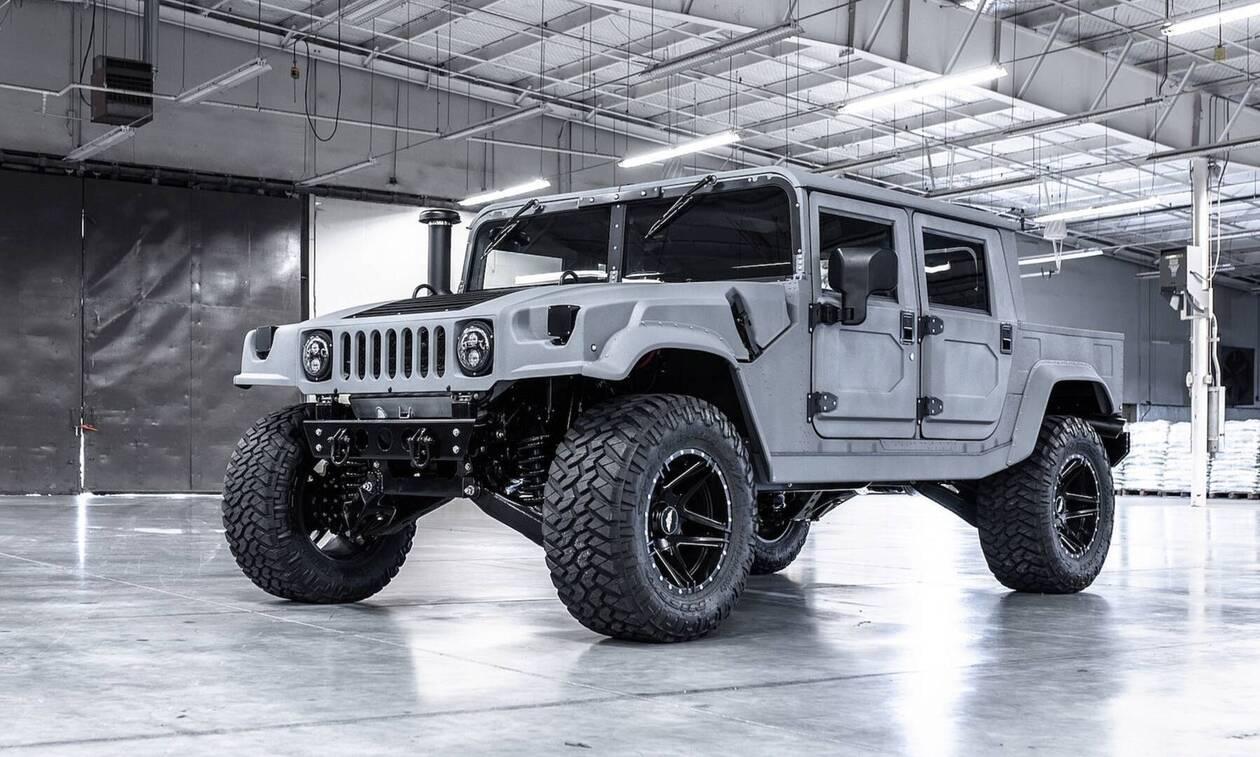 Το Hummer επιστρέφει ως ηλεκτρικό!