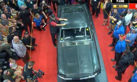 Πόσο λέτε ότι πουλήθηκε η Ford Mustang που πρωταγωνιστούσε στη θρυλική ταινία Bullitt;
