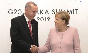 Στη Γερμανία εκτάκτως ο Ερντογάν - Συνάντηση με την Μέρκελ