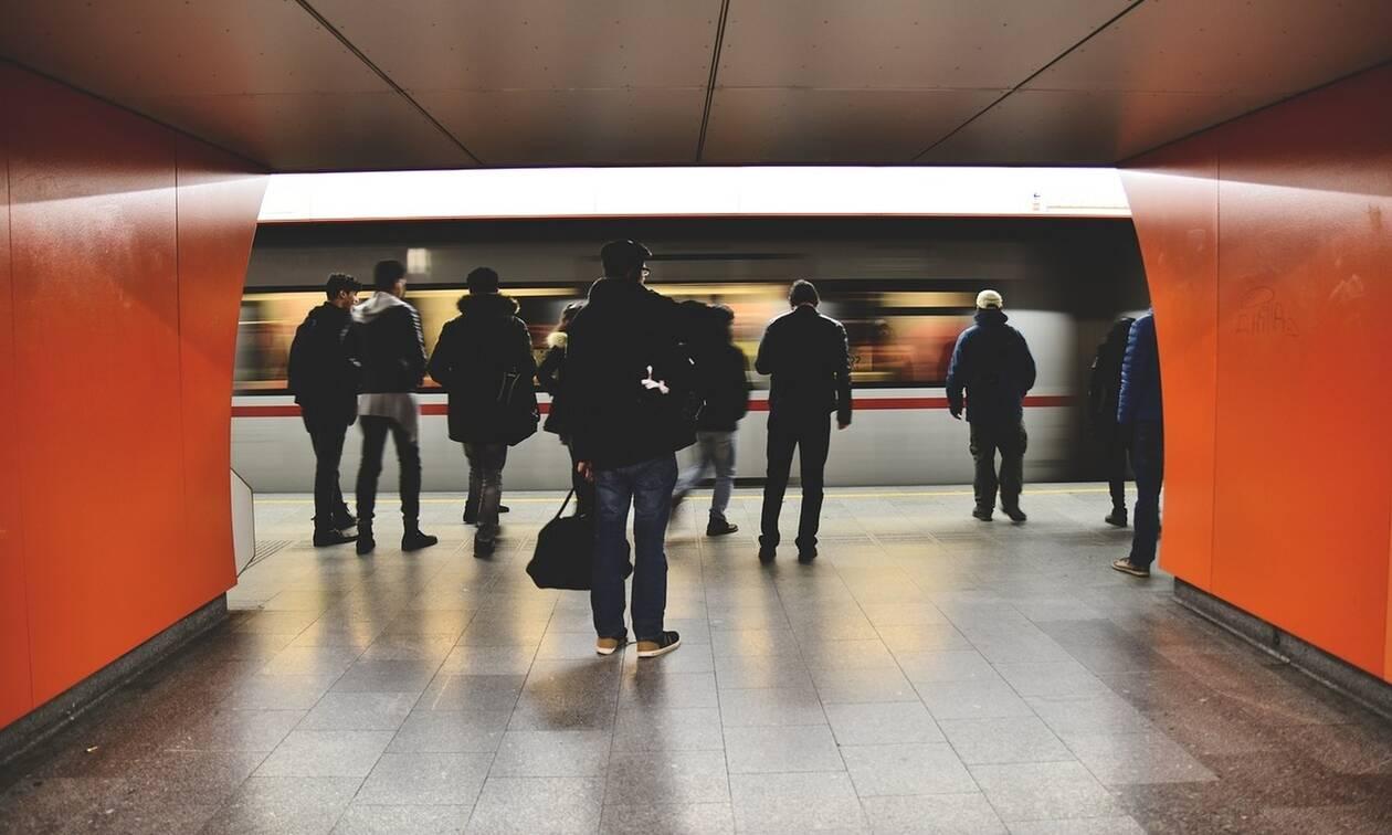 Χαμός στο Μετρό - Γιατί κοιτούσαν όλοι άφωνοι;
