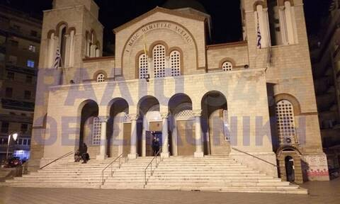 Θεσσαλονίκη: Ιερόσυλοι βανδάλισαν εικόνα της Παναγίας